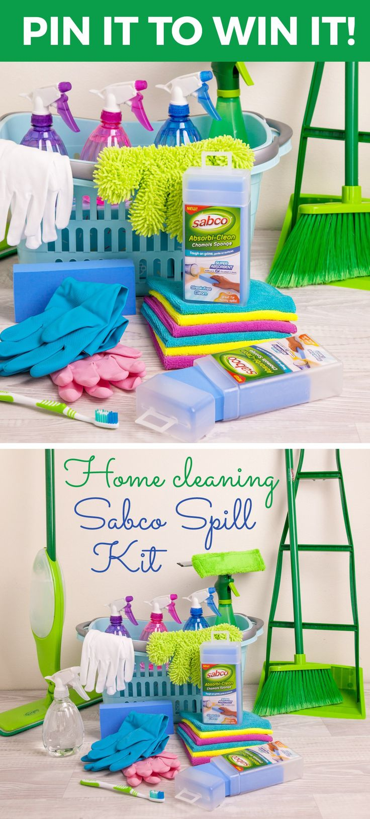 Pin it to win it! Click through for details on how to win a Sabco home cleaning kit! Organisation | Clean | Tidy | Fresh | Home| housekeeping | mum life | Aussie mums #KeepItClean #Sabco