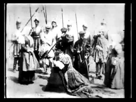 1st Film Edit - The Execution of Mary, Queen of Scots (1895) - Alfred Clark | Thomas Edison