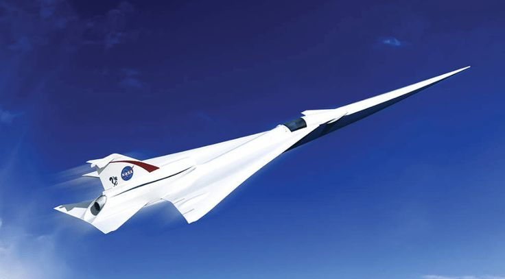 NASA News: Tests For Lockheed Martin X-Plane Design For Quiet Supersonic Aircraft Begin