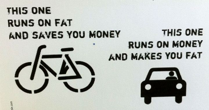 if we had more than 4 months of decent biking weather, we'd all be rich! :P