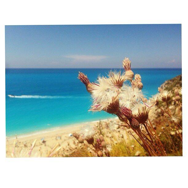 Lefkada / Milos beach #lefkada #greece  #summer #summer2015 #ilovegreece#instagood #instalike #lifo #athensvoice #beach #sea #shadesofblue #blue #mare #milosbeach