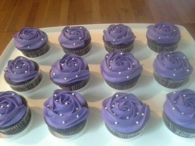 Cupcakes for a Sophia the First birthday party