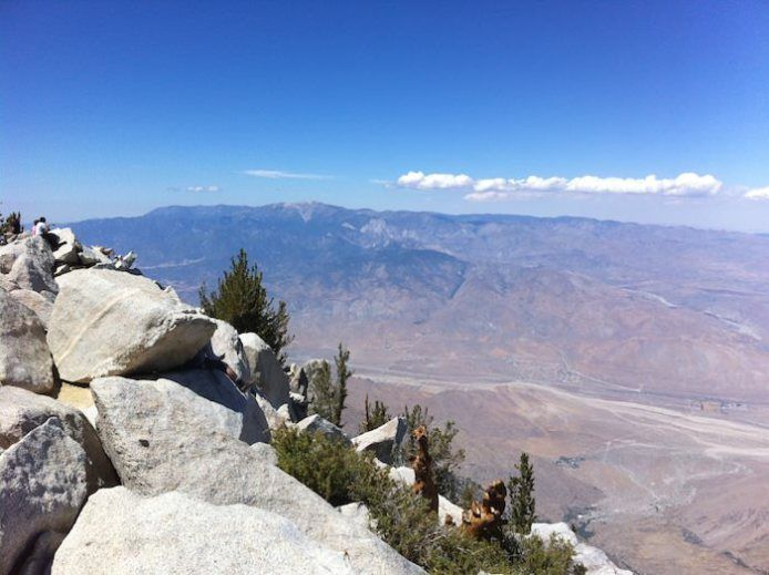 """Cactus to Clouds"", Mount San Jacinto Hike. 5th hardest day hike in America.  Oct. 2016"