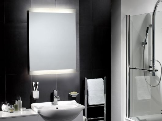Asti Illuminated Mirror Is A Popular Design With Warm Lighting Ideal For The More Traditional Bathroom
