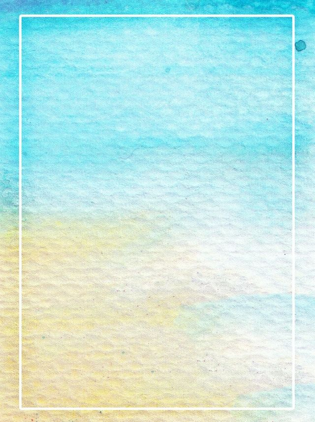 2020 的 Blue Yellow Gradient Watercolor Background 主题