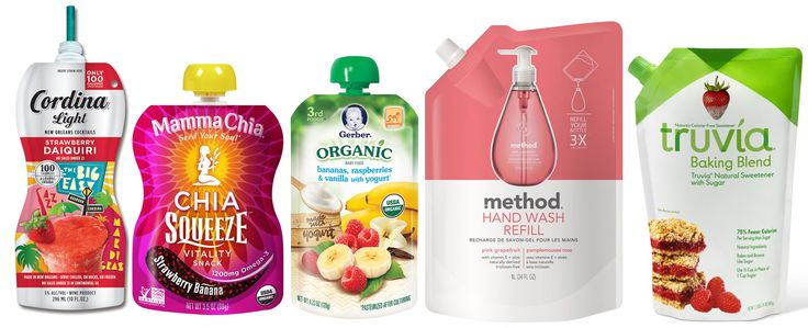 We design and develop portable beverage pouches or beverage bags, which help in brand differentiation from established polyethylene terephthalate (PET) bottles, glass bottles or aluminum cans and also more easily be recycled. #beveragebags #packaging #liquidpackaging #beverages #food. https://www.smartpouches.com/industries/beverages/