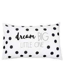 Little Domani Dream Big Little One Statement Pillowcase product photo
