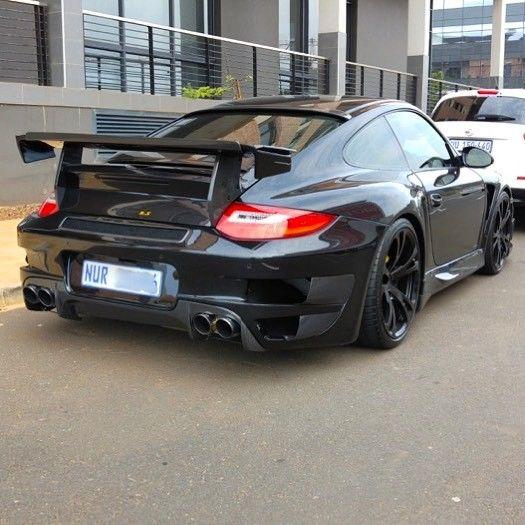 That is one mean machine! Porsche TechArt GT Street RS spotted in Umhlanga by @camdavies10  #ExoticSpotSA #Zero2Turbo #SouthAfrica #Porsche #TechArt #GTstreetRs