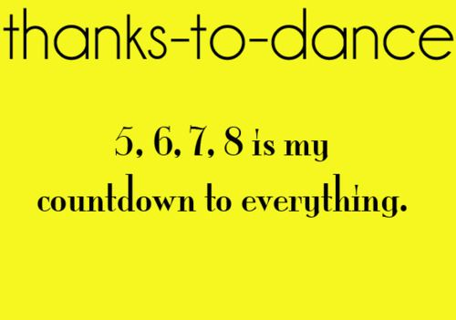 Thanks to dance | via Tumblr | We Heart It