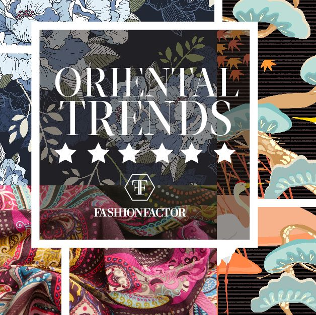 In this Thursday of fashion. This year the oriental influence has had a great impact in the fashion world. We can see this influence reflected in oversized prints and embroideries. Learn how to wear this oriental trend. Fashion Factor, the Yin and Yang of fashion.