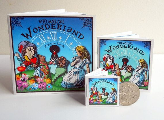 3 Alice in Wonderland Themed Picture Books  by Beauladigitals