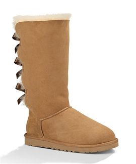 UGG Bailey Bow Tall is on sale now along with many other great UGG styles at austinsshoes.com!! Only $149.95! #ugg #sale
