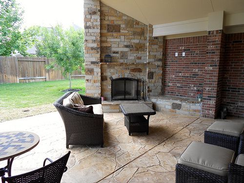 A covered patio is a favorite place to relax during summertime (for some – all year round). It is an outdoor extension of the house that can offer great comfort and serenity.  Anybody can have a laid-back time at the veranda, either alone or with someone else.