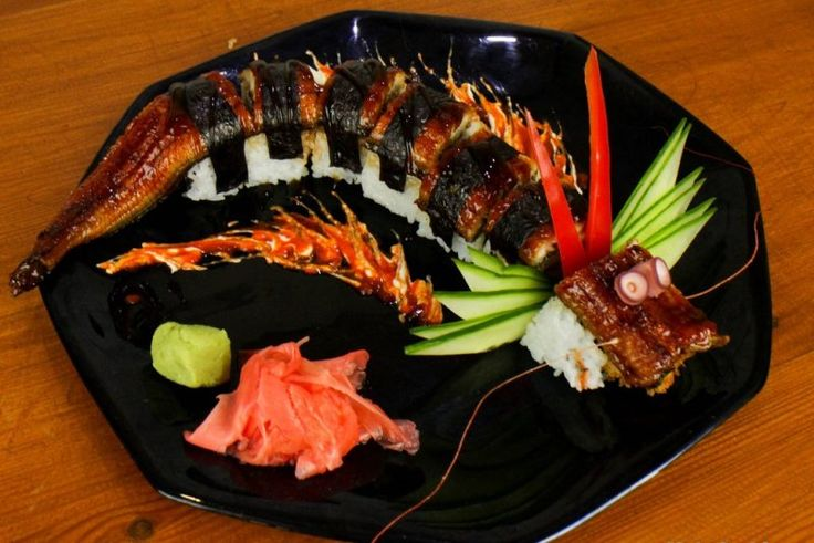 How to Cook a Amazing Dragon #Sushi Roll