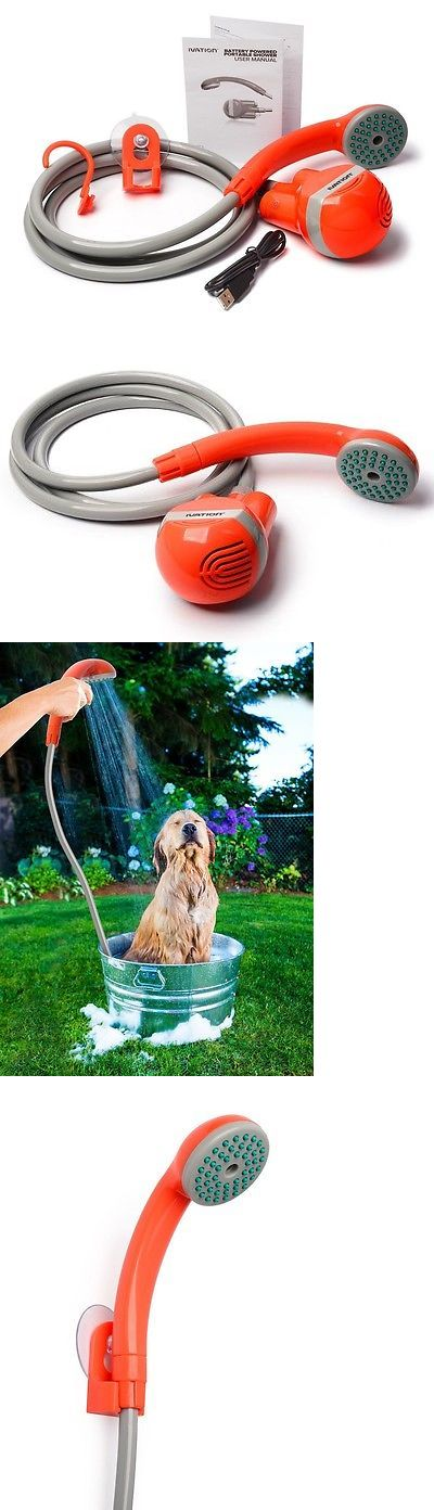 Portable Showers and Accessories 181396: Portable Shower Head Pump Bucket Sink Battery Powered Handheld Outdoor Camping BUY IT NOW ONLY: $58.09