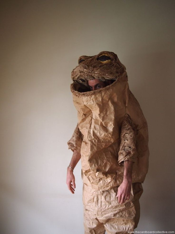 The Cardboard Collective: Paper Toad Costume
