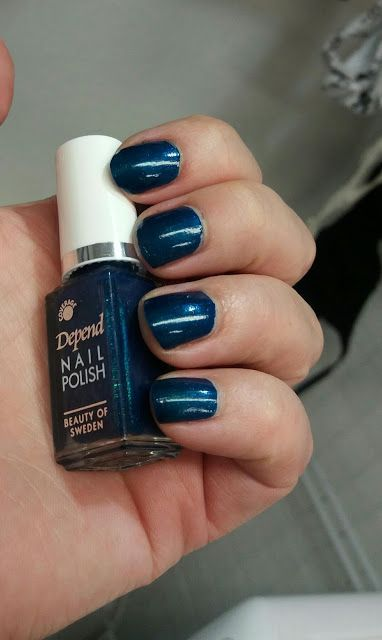 MY MIXED NAILPOLISH: Depend glam rock- nr 499