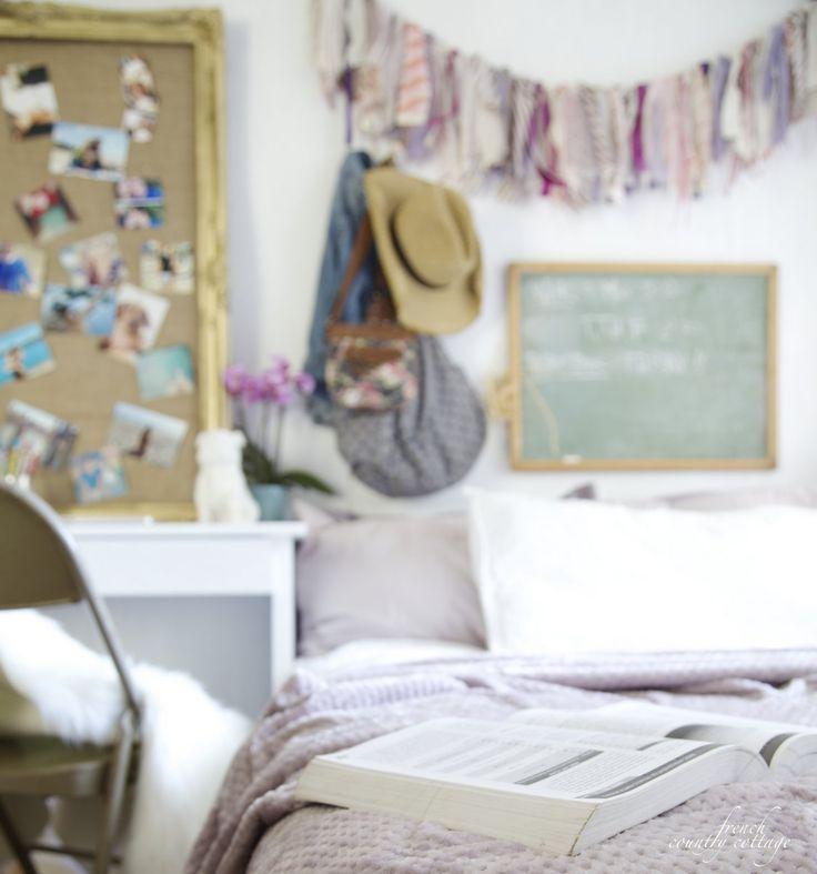 5 Steps For A Glam Dorm Room Makeover