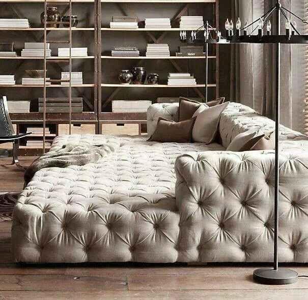 Le canapé se fait géant !
