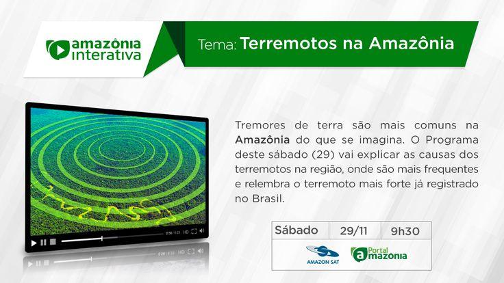 Amazônia Interativa  do dia 29/11/2014.
