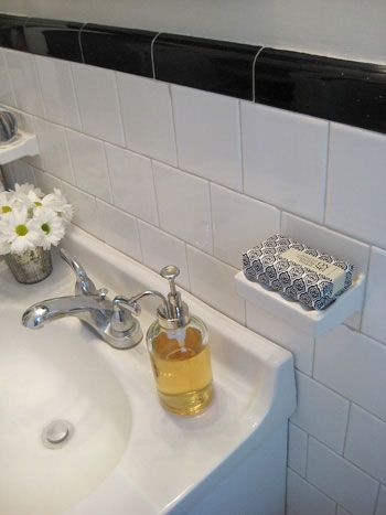 What To Do With Built In Soap Dishes Bathroom Remodel Cost Bathroom Soap Holder Old Bathrooms