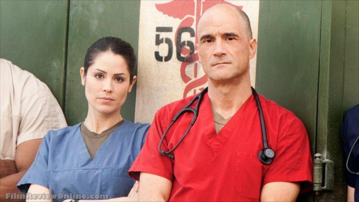Combat hospital stars elias koteas and michelle borth on
