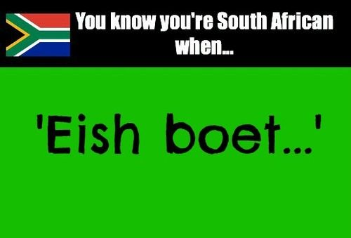 Got to love it! It's like our own language*