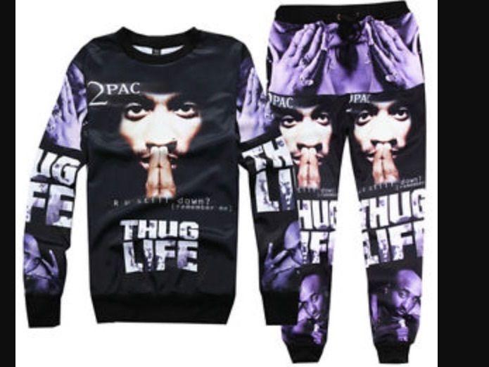 S Fashion Separates Men Tupac