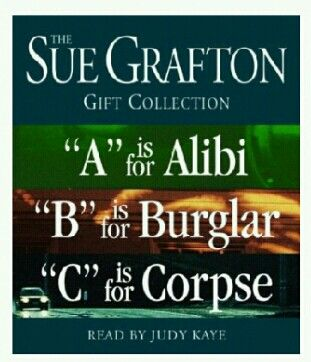 13 best sue grafton kinsey millhone images on pinterest fiction a b fandeluxe Gallery