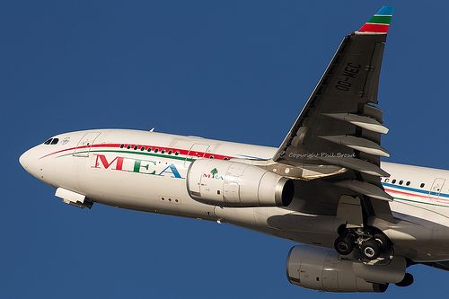 Middle East Airlines - MEA Airbus A330-200 OD-MEC