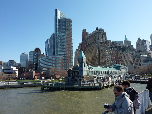 Ferry ride from Battery Park to Liberty Island