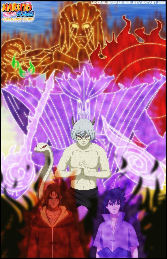 Portada: Itachi y Sasuke vs Kabuto by LiderAlianzaShinobi.deviantart.com on @DeviantArt