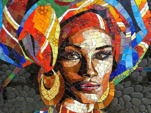 1180 best images about mosaicos sur pinterest mosa ques for Mosaic painting meaning