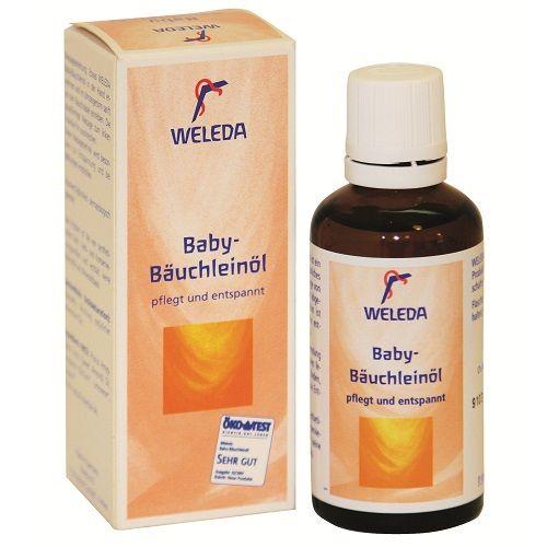 Weleda Baby – Ulei pentru burtica bebelusului – calmeaza colicii (50ml)