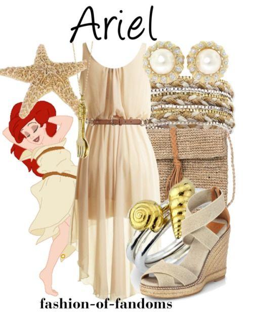 """Tagged """"fashion""""   Fandom Fashion bellissimo abito e accessori ispirati tra complementi che ricordano il mare e l'eleganza e la delicatezza di una sirenetta!!"""
