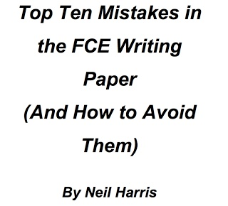 Avoiding Making Mistakes in Cambridge English: First Paper 2 Writing