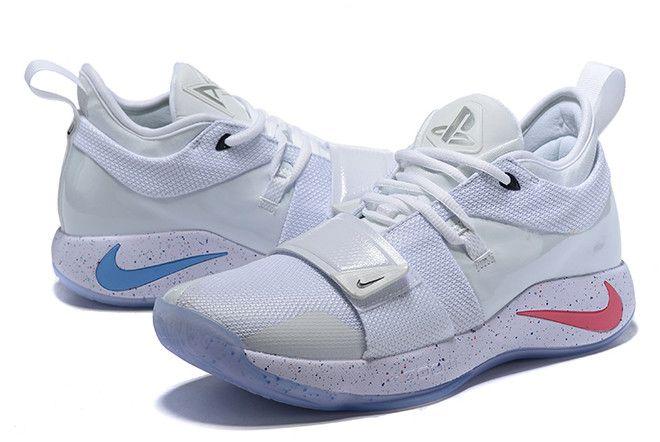 1b705b36d579 PlayStation x Nike PG 2.5 White Multi-Color Men s Shoes BQ8388-100 ...