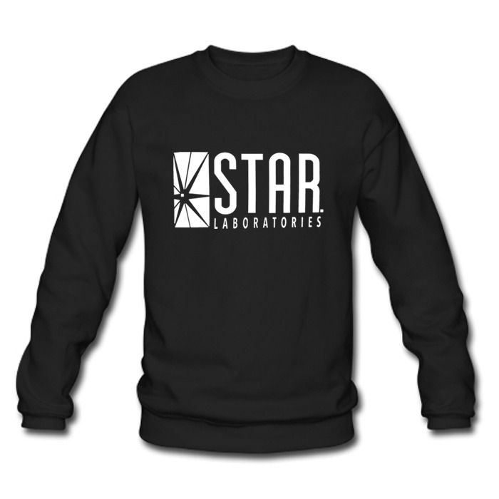 STAR Labs black sweatshirt (from The Flash) So I know what I want for Christmas...