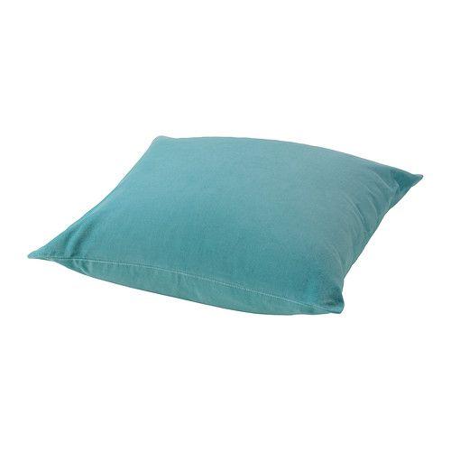 SANELA Fodera per cuscino IKEA Il velluto di cotone è morbido e dona profondità al colore. Grazie alla cerniera, la fodera è facile da togliere.