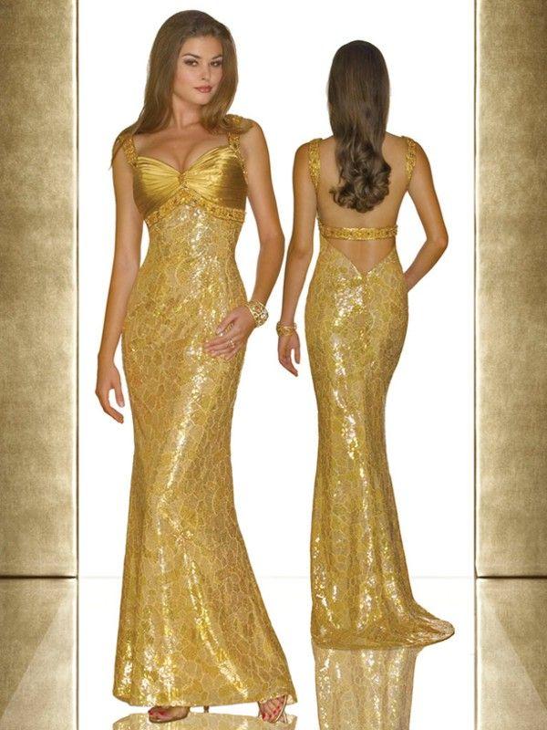 Золотые платья - Вечерние платья (красивые платья). Единая Служба Объявлений