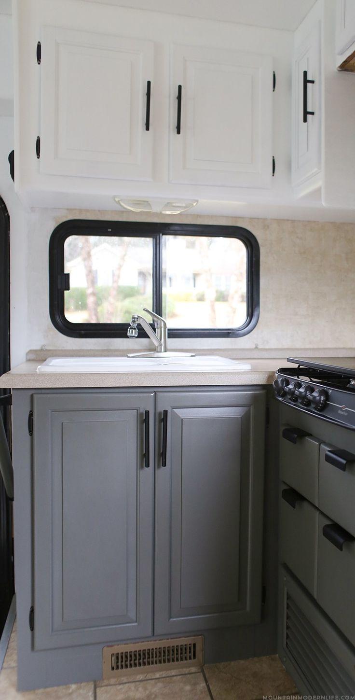 Update: RV Kitchen Cabinets