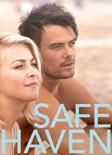 "starring Julianne Hough, Josh Duhamel, and Cobie Smulders ""Safe Haven"".....after running from an abusive husband Erin recreates herself in Southport, North Carolina, she changes her name to Katie, finds herself a  job, and a little cabin to live in. she learns to open up, and trust again, due to Jo, Alex and his kids. but as with any Nicholas Sparks book there's always emotional twists."