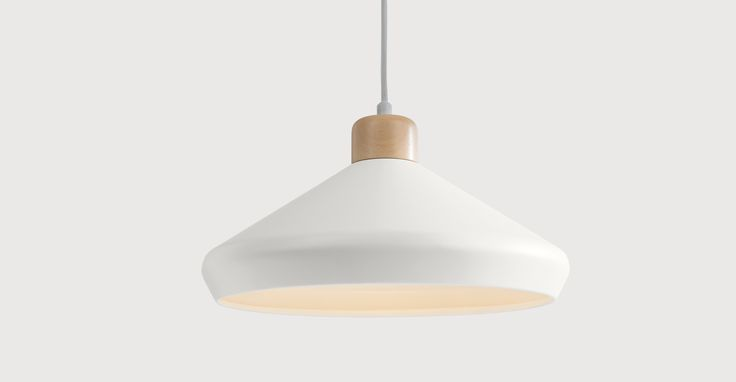 Albert Pendant Lamp, Muted Grey