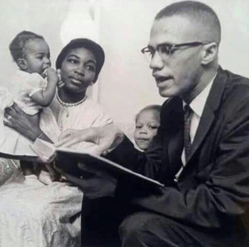 Malcolm X and Betty Shabbaz