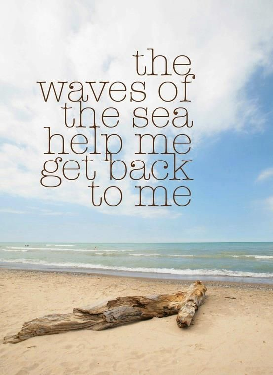 The waves of the sea wash away your worries and leave peace in your soul!