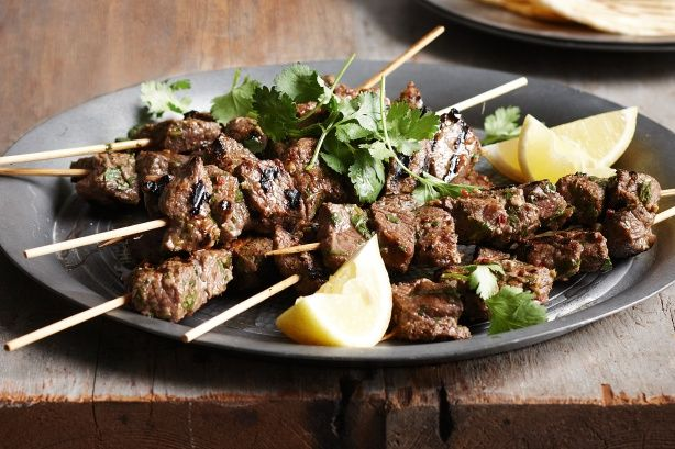 Kick off the alfresco season in your own backyard and throw these mouth-watering beef kebabs on the barbie.