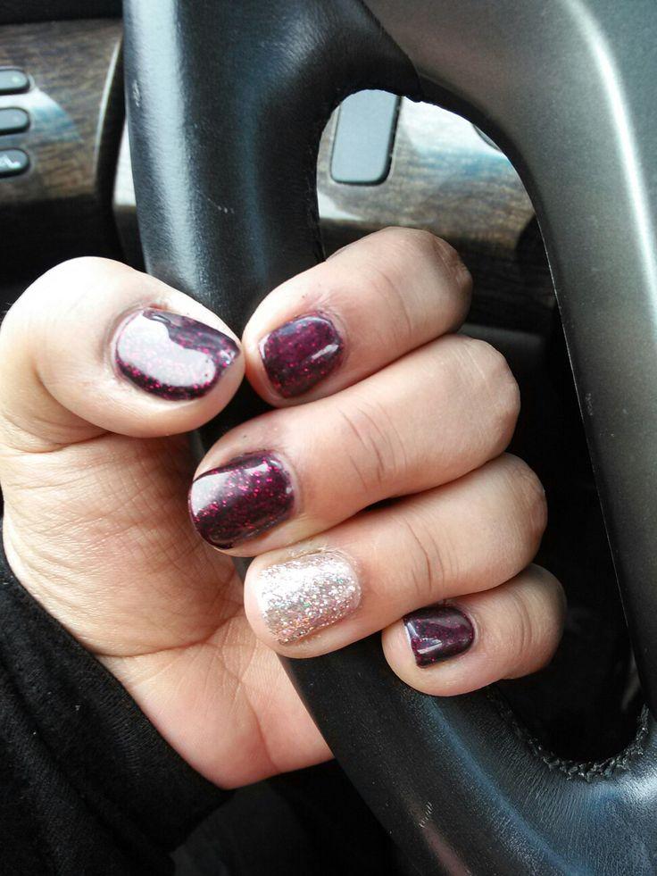 Jamsation.jamberry.com Bordeaux gel polish and party dress gel polish!!