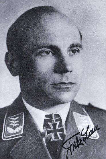 Hauptmann Fritz Lau (1911-2003), Staffelkapitän 4./Nachtjagdgeschwader 1, Ritterkreuz 28.04.1945