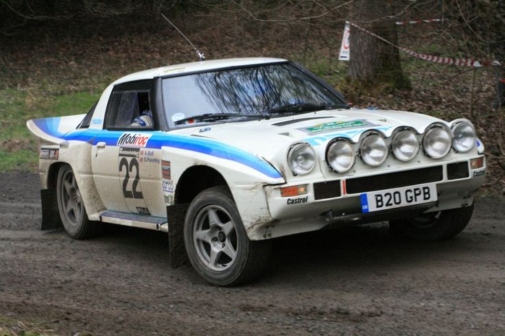 Mazda RX7 rally car - Group B
