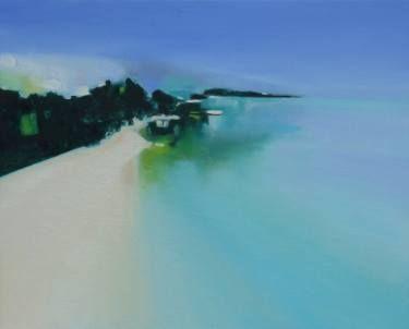 "Saatchi Art Artist Marta Zamarska; Painting, ""Tranquility 12"" #art"